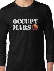 Occupy Mars Long Sleeve T-Shirt