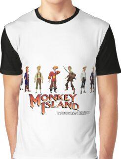 Monkey Island Guybrush - Evolution Edition Graphic T-Shirt