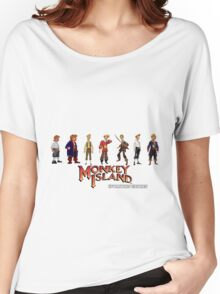 Monkey Island Guybrush - Evolution Edition Women's Relaxed Fit T-Shirt
