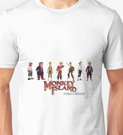 Monkey Island Guybrush - Puberty Edition  Unisex T-Shirt