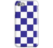 Blue Checkered iPhone Case/Skin