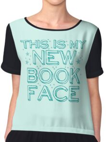 this is my NEW BOOK face Chiffon Top