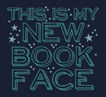 this is my NEW BOOK face Kids Tee