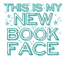this is my NEW BOOK face Photographic Print