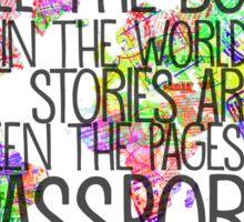 Travel stories Sticker