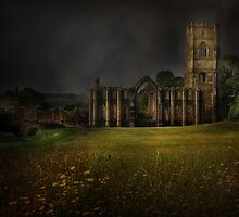 Fountains Abbey - Yorkshire by eddiej