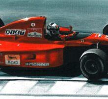 1991 Ferrari F1-91 Sticker