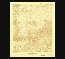 USGS TOPO Map Alabama AL Spruce Pine 305094 1945 24000 Unisex T-Shirt
