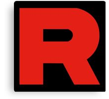 Team Rocket - Logo Canvas Print