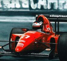 1992 Ferrari F92A Sticker