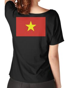 VIETNAM, Vietnamese, Vietnamese Flag, Flag of Vietnam, Women's Relaxed Fit T-Shirt