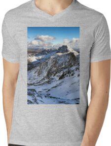 Snowdonia National Park Mens V-Neck T-Shirt