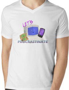 Let's Procrastinate! Mens V-Neck T-Shirt