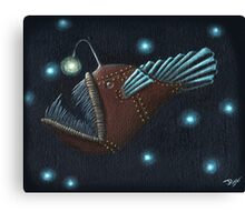 Angler fish Canvas Print