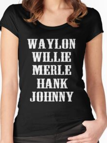 The Original Country Legend Women's Fitted Scoop T-Shirt
