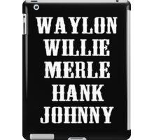 The Original Country Legend iPad Case/Skin