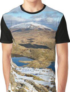 Snowdonia National Park Graphic T-Shirt