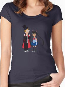 Tina is Sailor Moon! Women's Fitted Scoop T-Shirt