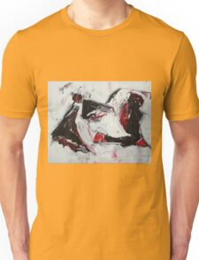 Creme Brulee with Metal- Original Oil  painting on Canvas Unisex T-Shirt