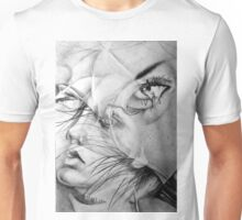 Incantation, 2016, 50-70 cm, graphite crayon on paper Unisex T-Shirt