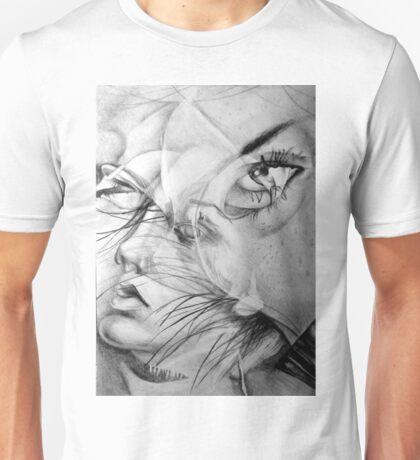 Incantation, 2016, 50-70 cm, graphite crayon on paper Unisex T-Shirt
