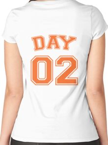 kevin day #2 striker Women's Fitted Scoop T-Shirt