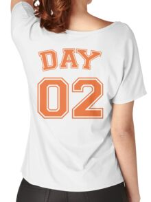 kevin day #2 striker Women's Relaxed Fit T-Shirt