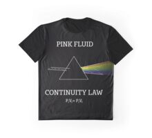 PINK FLUID Graphic T-Shirt