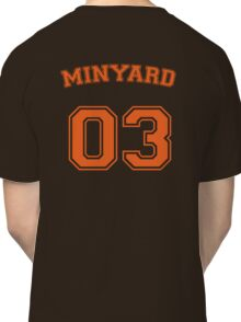 andrew minyard #3 goalkeeper Classic T-Shirt