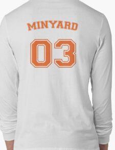andrew minyard #3 goalkeeper Long Sleeve T-Shirt