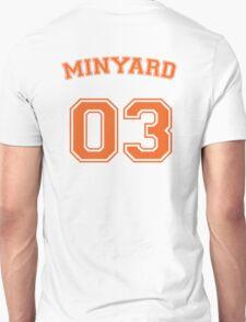 andrew minyard #3 goalkeeper Unisex T-Shirt