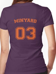 andrew minyard #3 goalkeeper Womens Fitted T-Shirt