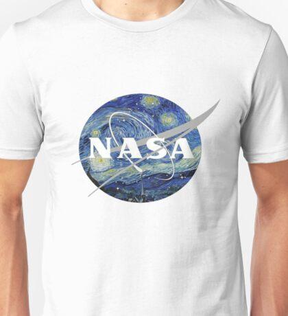 NASA- Van Gogh themed Unisex T-Shirt