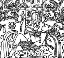 K'inich Janaab Pakal I - Mayan 'Astranaut' Sticker