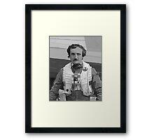 Edgar Allan Poe Dameron Framed Print