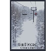 Val d'Isere Chairlift Photographic Print