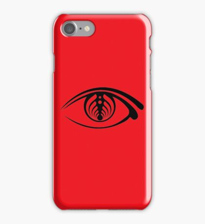 bass head open your eye  iPhone Case/Skin