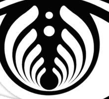 bass head open your eye  Sticker