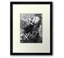 Rubber boots 7 Framed Print
