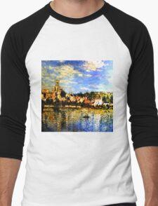 Small Italian Town Men's Baseball ¾ T-Shirt