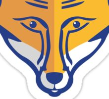 FOXES NEVER QUIT  Sticker