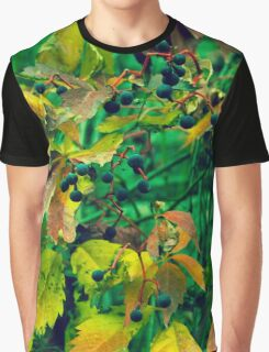 Wild grapes (green) Graphic T-Shirt