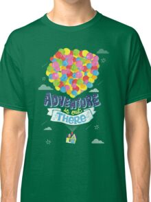 Adventure is out there 3 Classic T-Shirt