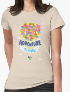 Adventure is out there 3 Womens Fitted T-Shirt