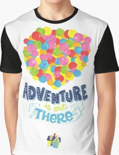 Adventure is out there 3 Graphic T-Shirt