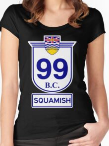 BC 99 - Squamish Women's Fitted Scoop T-Shirt