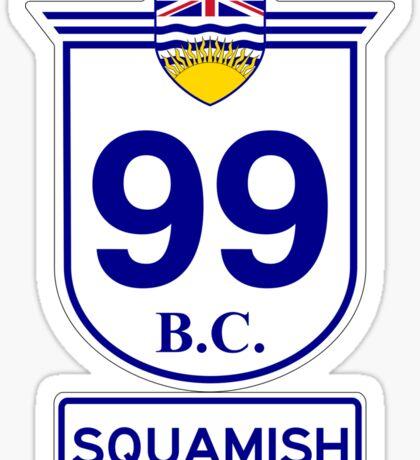 BC 99 - Squamish Sticker