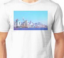 Sydney City CBD Vaporwave Landscape Unisex T-Shirt