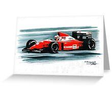 1993 Ferrari F93A Greeting Card
