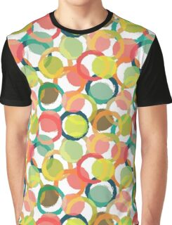 Colorful Circles Graphic T-Shirt